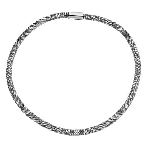 Amanda Wakeley sterling silver sparkle necklace