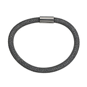 Amanda Wakeley sterling silver black sparkle bracelet - Product number 9175873