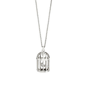 Simon Carter platinum plated bird cage pendant - Product number 9179747