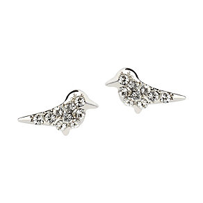 Simon Carter platinum plated bird earrings - Product number 9179755