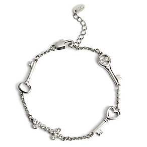 Simon Carter platinum plated key bracelet - Product number 9179798