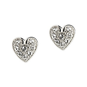 Simon Carter crystal heart stud earrings - Product number 9179852