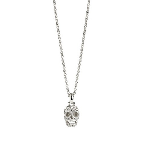 Simon Carter crystal skull necklace