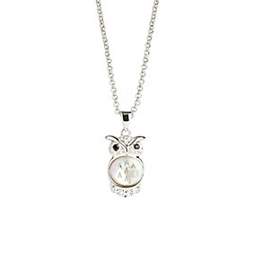 Simon Carter platinum plated baby owl pendant - Product number 9179909
