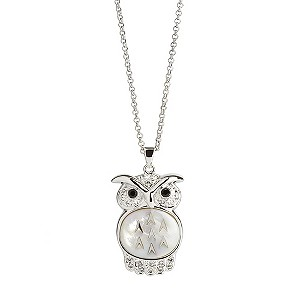 Simon Carter platinum large owl pendant - Product number 9179917