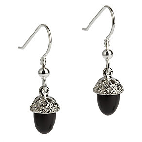 Simon Carter stone set onyx acorn earrings - Product number 9179976