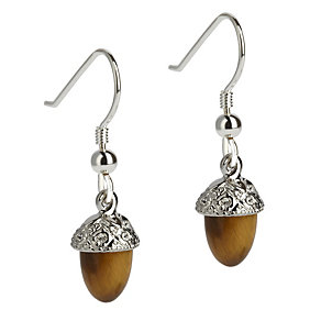 Simon Carter platinum plated acorn earrings - Product number 9179992