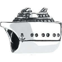 Chamilia sterling silver cruise ship bead - Product number 9182012