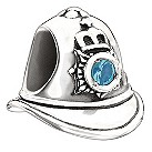 Chamilia sterling silver Bobby's Helmet bead - Product number 9186883