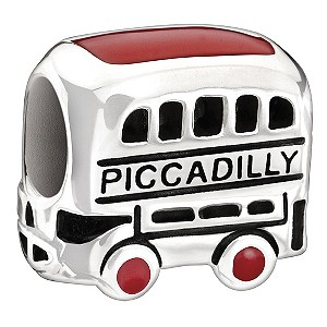 Chamilia - sterling silver London Bus bead - Product number 9186891