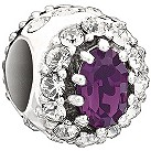 Chamilia - sterling silver Purple Royal bead - Product number 9186913