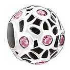 Chamilia - sterling silver Mommy & Me pink bead - Product number 9187049