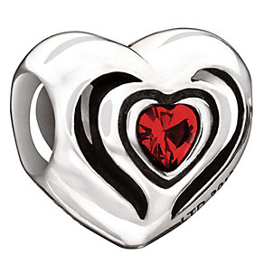 Chamilia sterling silver Exclusive Valentine's Day bead - Product number 9187456