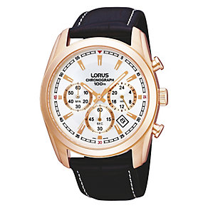 Lorus Men's Rose Chronograph Watch - Product number 9187758