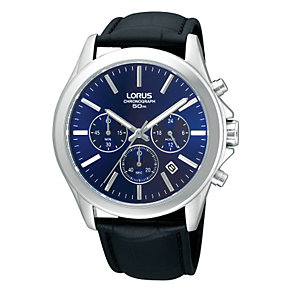 Lorus Men's Rose Gold-Plated Chronograph Watch - Product number 9187812