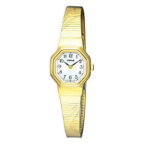 Lorus Gold-Plated Silver Dial Bracelet Watch - Product number 9188436