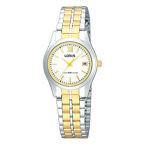 Lorus Ladies' Two Tone Bracelet Watch - Product number 9188452