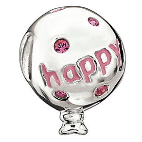Chamilia - Silver & Pink Birthday Balloon Bead - Product number 9189572