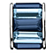 Chamilia - Silver Blue Crystal Baguette Bead - Product number 9189661
