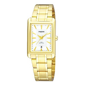 Pulsar Ladies' Gold-Plated Bracelet Watch - Product number 9190015