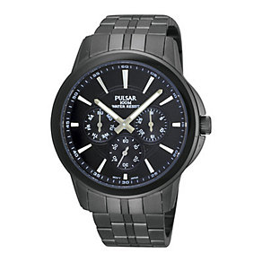 Pulsar Men's Ion Plated Bracelet Watch - Product number 9191054