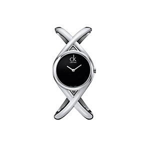 Calvin Klein Enlace ladies' stainless steel bangle watch - Product number 9203648