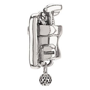 Chamilia Sterling Silver Golf Bag Bead - Product number 9203877