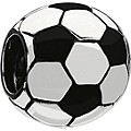 Chamilia silver multi enamel football bead - Product number 9203923