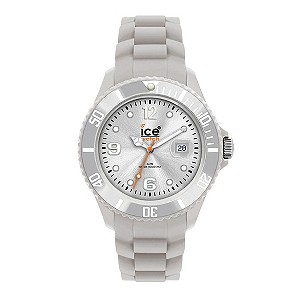 Ice-Watch Men's Silver Silicone Strap Watch - Product number 9204253