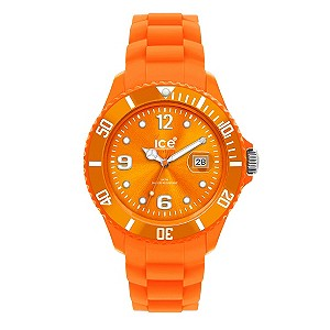 Ice-Watch Men's Orange Silicone Strap Watch - Product number 9204261