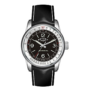 Exclusive Rotary Men's Solar Strap Watch - Product number 9204776