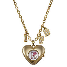 Paul's Boutique Trixie Gold-Plated Pendant Watch - Product number 9204881