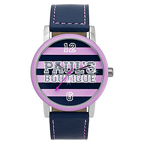 Paul's Boutique Mia Stripe Dial Watch - Product number 9204911