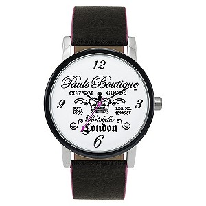 Paul's Boutique Mia Black Strap Watch - Product number 9204946