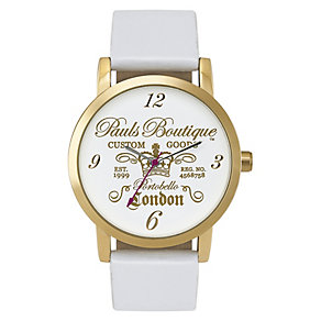 Paul's Boutique Mia White Strap Watch - Product number 9204954