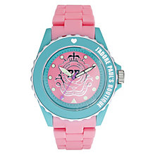Paul's Boutique ladies' Pink Strap Watch - Product number 9204989
