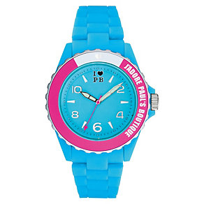Paul's Boutique Luna Blue & Pink Watch - Product number 9205004