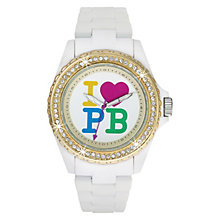 Paul's Boutique Luna White Strap Watch - Product number 9205039