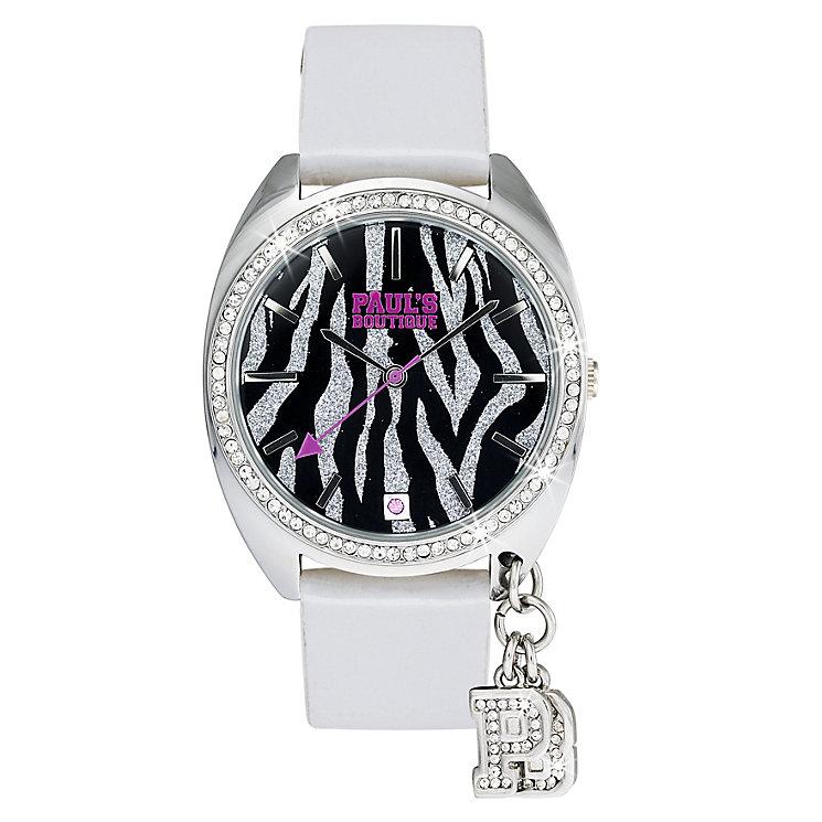 Paul's Boutique Paris White Strap Watch - Product number 9205055
