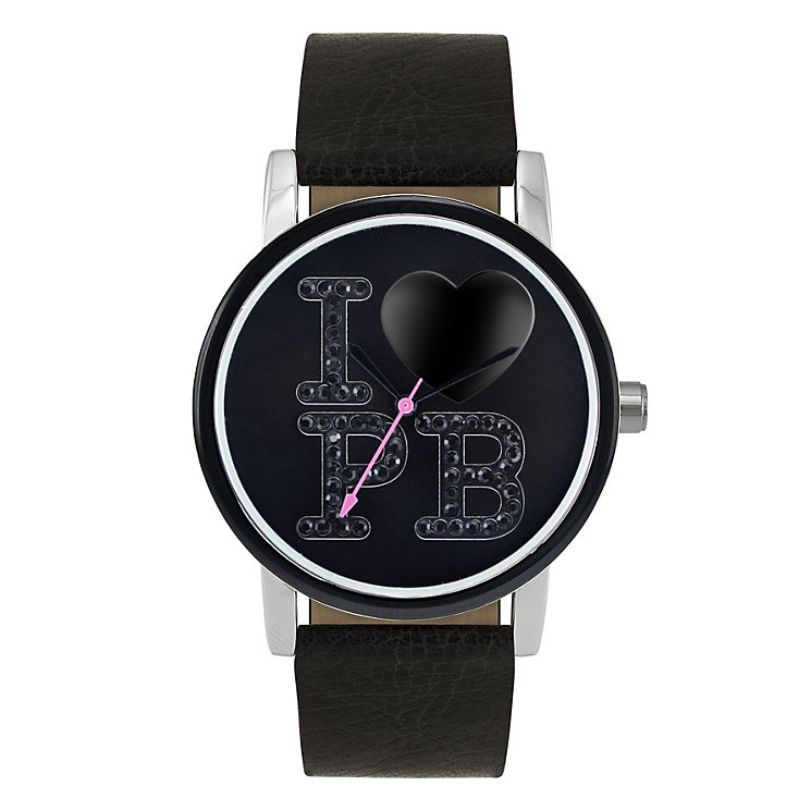 Paul's Boutique Mia Black Strap Watch - Product number 9205063