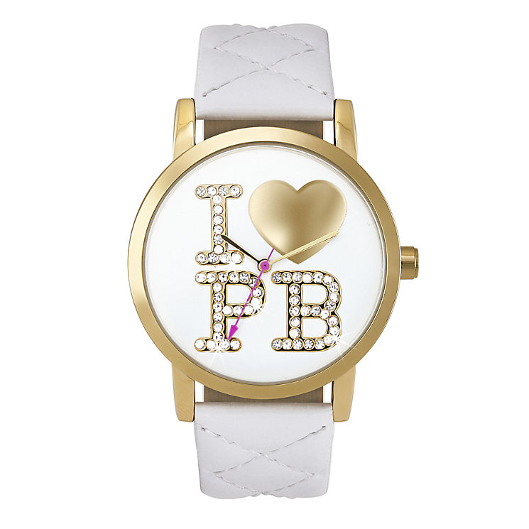Paul's Boutique Mia White Strap Watch - Product number 9205071