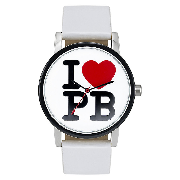 Paul's Boutique Mia White Strap Watch - Product number 9205144