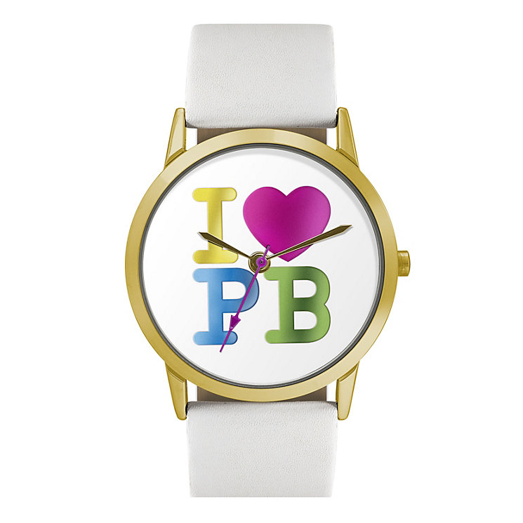 Paul's Boutique Colour Logo White Strap Watch - Product number 9205152