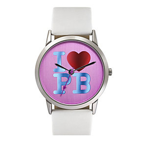 Paul's Boutique Mia White Strap Watch - Product number 9205160