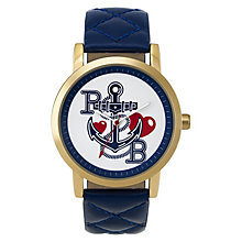 Paul's Boutique Mia Navy Strap Watch - Product number 9205187