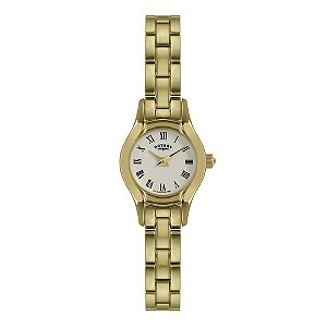 Rotary Ladies' Gold Plated Bracelet Watch - Product number 9205314