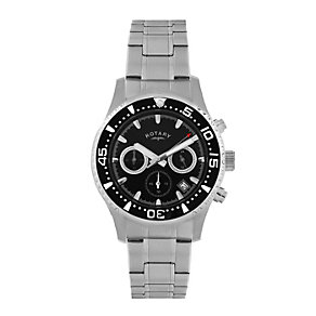 Rotary Stainless Steel Chronograph Watch - Product number 9205837