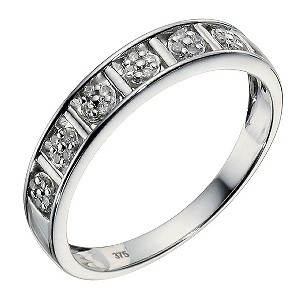 9ct White Gold Diamond Ring - Product number 9213333