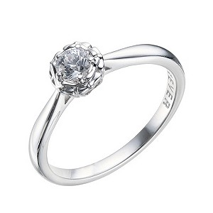 The Forever Diamond - 9ct White Gold 0.25 Carat Diamond Ring - Product number 9219943
