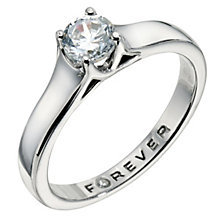 Palladium 1/4 Carat Forever Diamond Ring - Product number 9221131